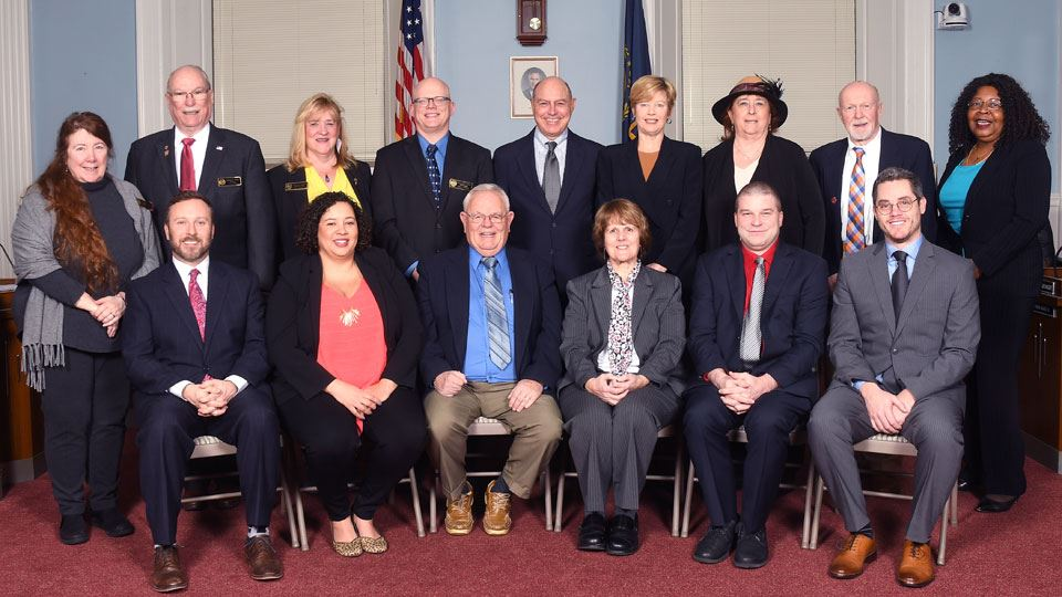 Board of Aldermen 2020 Group Photo
