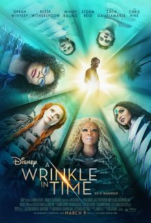 Movie poster featuring a teal background and colorful characters surrounding a bright light