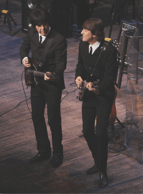 Photo of Beatles impersonators