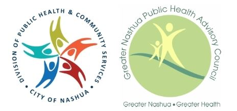 Logos for Greater Nashua Public Health and Advisory Council