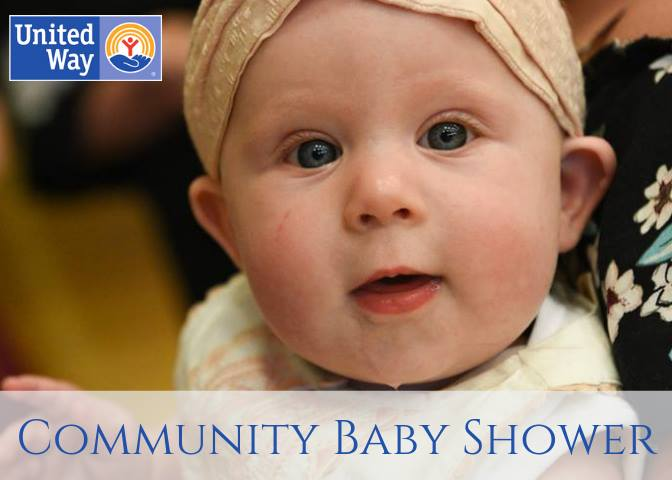 Image of baby with United Way logo