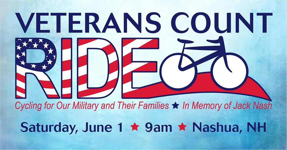 Event logo with teal background, an outline of a bike and the event name in blue font with American