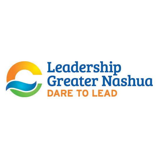 White background with Leadership Greater Nashua logo and event name