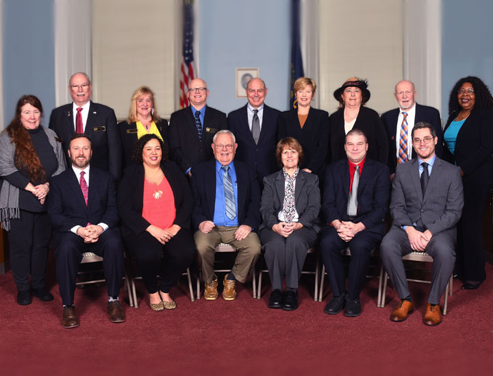Board of Aldermen group photo