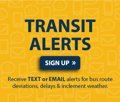 Sign Up for Transit Alerts