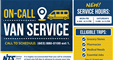 On-Call Van Service available to nashua residents