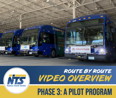 Route by Route video overview of Phase 3 Pilot Service
