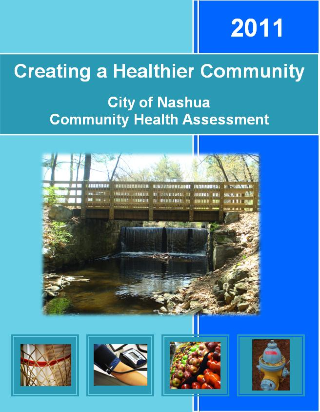 Cover of the 2011 Community Health Assessment, Creating a Healthier Community