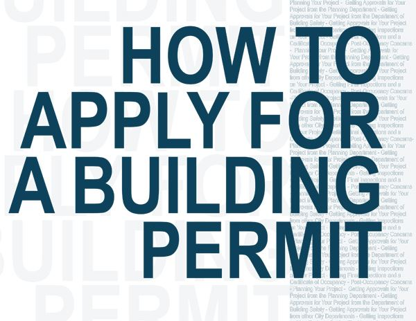 How to Pull a Building Permit