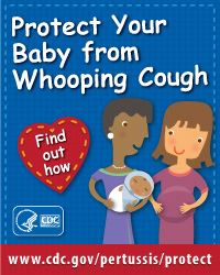 CDC Whooping Cough Resource for Mothers