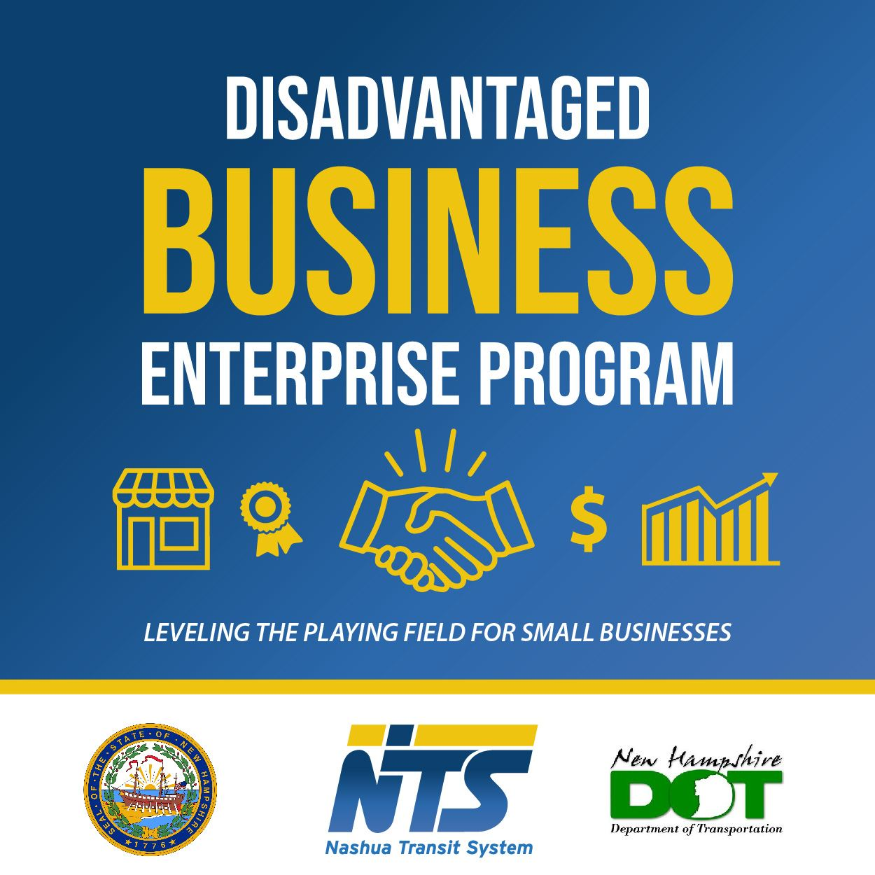 DBE Disadvantaged Business Enterprise Program ad