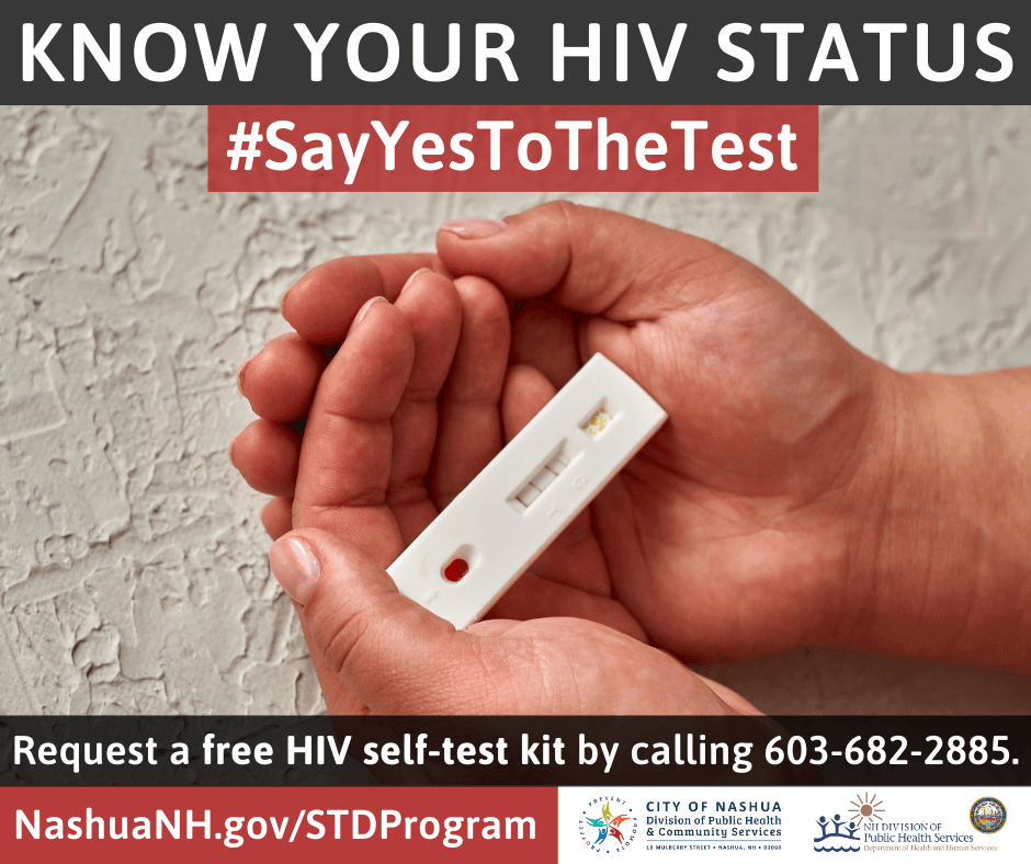 HIV Self Test Post English