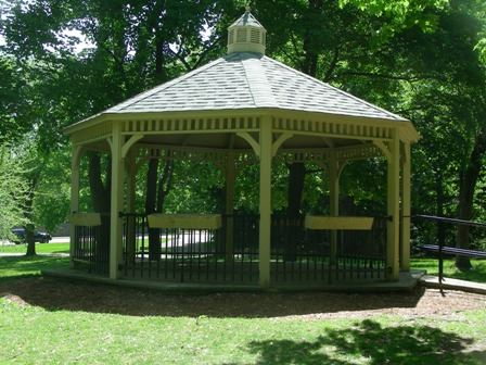 View of Greeley Gazebo.