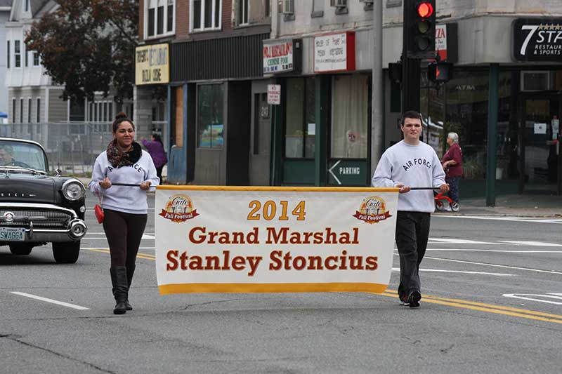 2014 Grand Marshal Stanley Stoncius