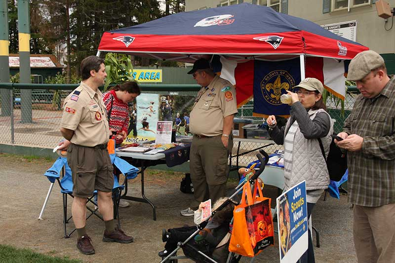 Boy Scouts Booth