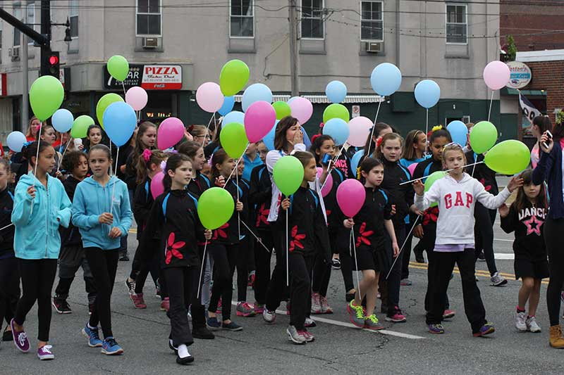 Group of Girls Holding Balloons