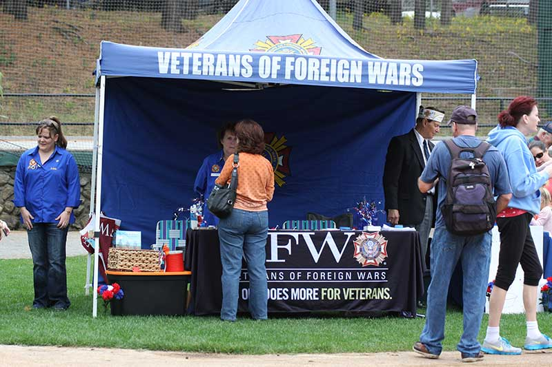 Veterans of Foreign Wars Booth